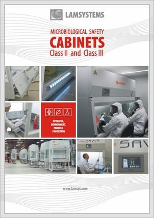 "Download brochure ""Microbiological safety cabinets"""