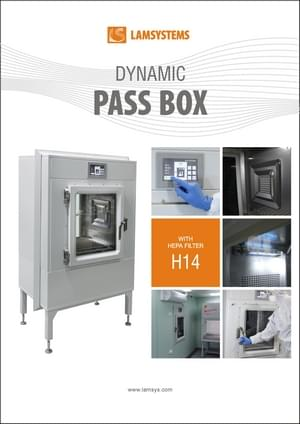 Dynamic passbox for clean room ,download pdf