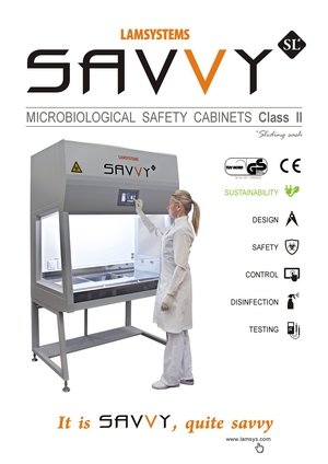 SAVVY SL- Microbiological Safety cabinets Class II type A2