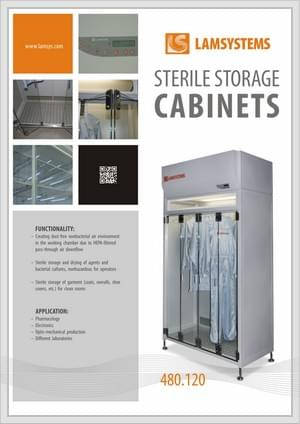 "Download brochure ""Sterile Storage Cabinets"""